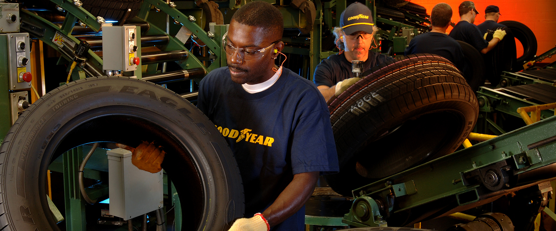 Working at goodyear